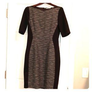 Elie Tahari Pontepanel tweed sheath dress